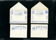 Great Britain Post Cards 8x 1890's Commems Official's Mint