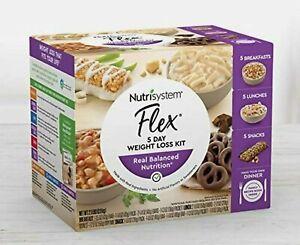 Nutrisystem Flex 5 Day Weight Loss Kit Healthy Food 5 Breakfast 5 Snack 5 Lunch