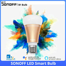 SONOFF RGB LED Smart Wifi Wireless Colour Light Bulb Dimmable with Alexa Google