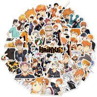 Haikyuu 50pcs sticker Volley Ball Anime Manga Collectable Gift Waterproof