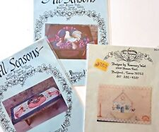 Rosemary West Tole Painting Packet LOT Chicken & Fruit Angel Blessing Noahs Ark