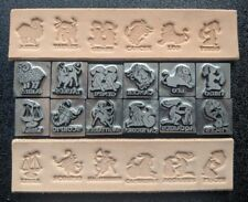 Leather Stamps - Set of All 12 for Zodiac, Astrology, Horoscope, Limited Edition