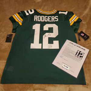 AARON RODGERS Signed Autographed NIKE ELITE Jersey #12 Green Bay Packers COA