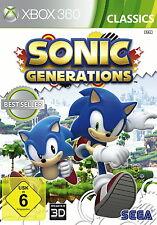 Sonic Generations Classics Pyramide Software Microsoft Xbox 360, 2014 -gepflegt-