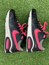 Brand New Nike Air Max Ladies Black/ Neon Pink Size 5.5 Running Gym Trainers