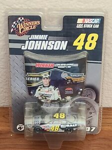 2007 #48 Jimmie Johnson Lowe's Kobalt Fall Texas Win 1/64 Winner's Circle