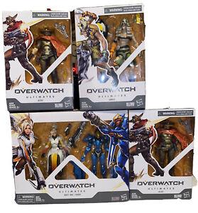 Hasbro Overwatch Ultimates Series - Junkrat Action Figure Lot Of 4 Overwatch