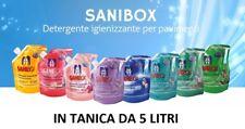 sanibox detergente da 5 lt