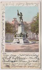 Canada postcard - Statue of Maisonneuve, Montreal - P/U 1904