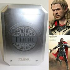 Hot Toys MMS.224 Marvel Thor The Dark World 1/6 Light Asgardian Armor New SALE