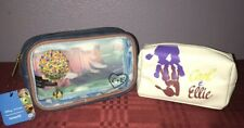 Loungefly Disney Up Carl and Ellie Cosmetic Bag Set NEW
