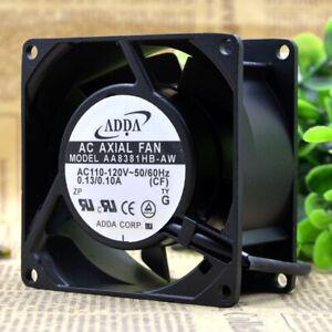 1pc ADDA AA8381HB-AW 8CM 8038 110V 0.13A cooling fan