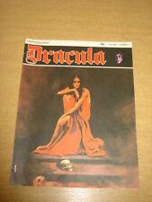 DRACULA VOL 1 #3 FN (6.0) 1971 NEW ENGLISH LIBRARY HORROR MAGAZINE