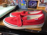Vans Slip-On 47 V DX (Anaheim Factory) OG Red Size US Men's 13 VN0A3MVAR3V New