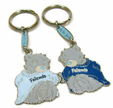 Tatty Bear Key Chain 2 part Metal Me to You Friendship Keyrings Blue Grey