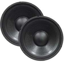 "Eagle Pair Of Replacement 310mm 12"" Speaker Cabinet Woofer Drivers 350w 8 Ohms"