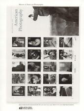 #654 37c America Photography MS20 #3649 USPS Commemorative Stamp Panel