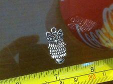 Owl Cute Bird Métal Petit Charm Pendentif Animal