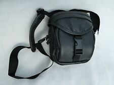 Handy Noir Sac en cuir appareil photo numérique Case Vape Kit Organisateur hommes femmes
