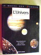 L'univers le monde des sciences /Z87
