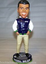 2013 Russell Wilson Seattle Seahawks Bobblehead Doll Varsity Collection LTD 504