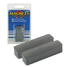 2 starke Magnete, rechteckige Form, Blockmagnet, Magnet, Keramikmagnet, Keramik