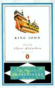 NEW Shakespeare Life & Death King John Medieval England 1199AD Richard Lionheart