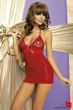 BABYDOLL + Tanga Rosso taglia S/M INTIMO LINGERIE sexy DONNA [142]