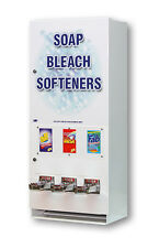 394 Soap Vending Machine 3-Column Laundry Supply Soap Bleach Dryer