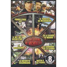 Los Mas Perrones De Michoacan DVD NEW 8 Pk La Avioneta Colombiana Y Mas!