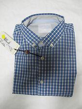 PEUTEREY camisa de hombre Comprobar mod BD col.BIANCO/AZUL/azul T. L verano 2011
