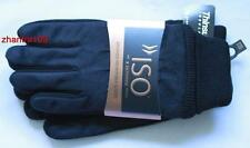 ISOTONER ISO Brushed Microfiber Gloves 3M Thinsulate 40g 1size Black 706M1 ~ NWT