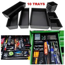 Tool Box Drawer Organizer Tray Set Perfect for Tool Chest Cart Cabinet, Hardware