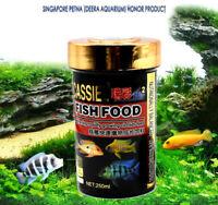 Aquarium Niniature Food For mini Cichlids fish Sinking 1MM Pellet 200ml AK295