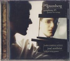 Jay Greenberg - Serebrier, London SO: Symphony No. 5; Quintet for Strings New