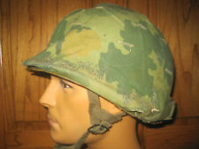 """Vietnam U.S. Army Paratrooper """"Chaplin Joe"""" Helmet"""