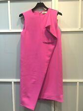 100% authentic Balenciaga sleeveless uneven design pink dress