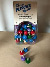 Kreisel Flipover Top Holz Spielzeug