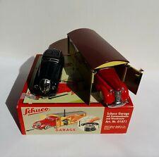 Schuco Garage mit Kommandoauto und Wendeauto Nr. 01071 unbespielt in OVP