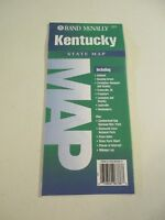 Rand McNally Kentucky State Highway Travel Map