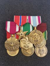 Us grandes ordensspange con estrella de bronce Defense Meritorious Seal Navy 8 medalla