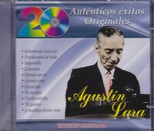 Agustin Lara 20 Autenticos Exitos Originales CD New Nuevo Sealed