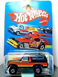 HOTWHEELS...VINTAGE <> 1979 CARDED <> FORD BRONCO <> 4-WHEELER