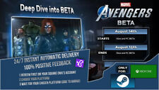Marvel's Avengers Early Access/BETAs Key for PC and Xbox One (Aug 14-16) EUROPE