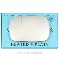 Left side Wide Angle Wing door mirror glass for Volvo XC90 2001-06 heated +plate