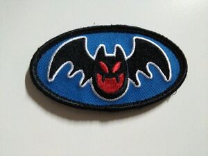 BAT - PATCH - 5x9cm - PARCHE - Hook & Loop backing