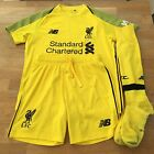 Liverpool FC 2018-19 Kid's Football Goalkeeper Home Kit Size 9-10 Years, Yellow