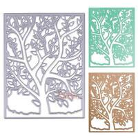 Spring Tree Embossing Cutting Dies Stencils DIY Scrapbooking Album Paper Crafts