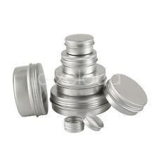 Leer Aluminium Döschen Creme Dosen Tiegel Für Kosmetikum 5/10/30/50/100ml
