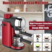 Portable Household Automatic Espresso Coffee Machine Maker Steam with Milk